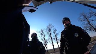Погоня в степях . Крымские полицейские на Херсонщине