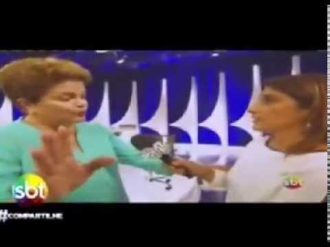 O nocaute que a Dilma levou no debate do SBT 17/10/2014