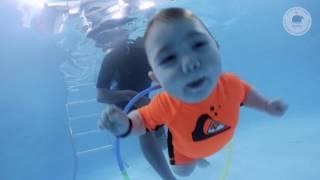 Грудничковое плавание в Ростове  Макар 6 месяцев 