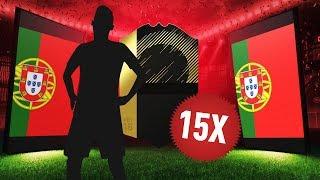 15 WYMIENNYCH IF! WALKOUT 90+ PACZKI ZA 125k 2w1! | FIFA 18