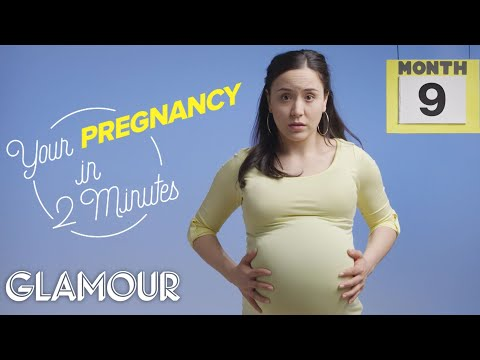 this-is-your-pregnancy-in-2-minutes-|-glamour