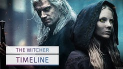Die Zeitlinien erklärt in The Witcher