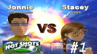 Hot Shots Golf 3 - Part 1: Stacey & Spike!