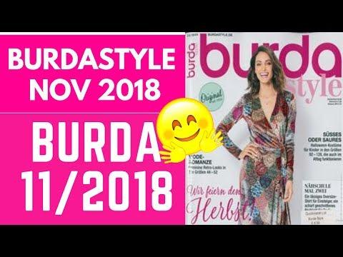 Burda 11/2018 Preview, Sewing Plans And #burdachallenge2018 Plans