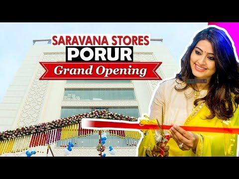 புதிய தோற்றத்தில் போரூர் சரவணா ஸ்டோர்ஸ்  | Saravana Stores Porur Grand Opening Without Celebrities!