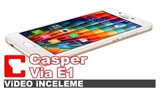 Casper VIA E1 - Akıllı telefon - Video İnceleme