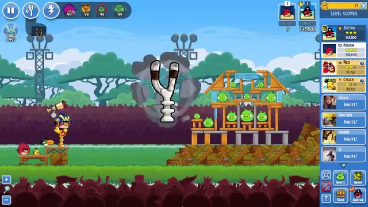 crack angry birds friends facebook gratuit illimit - Angry Birds Gratuit