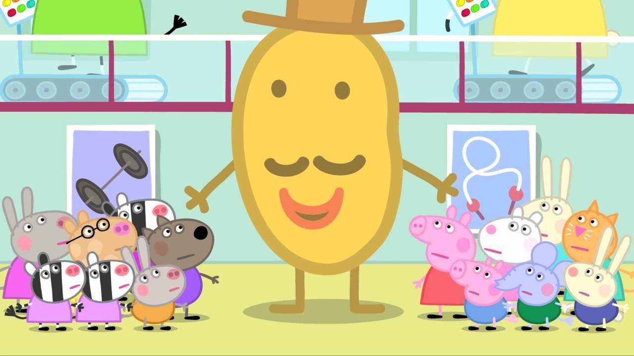 Peppa Pig - Mr. Potato Comes to Town (17 episode / 3 season) [HD]