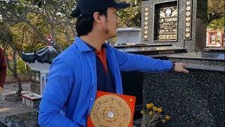 Sử dụng LA BÀN TIẾNG VIỆT Tầm Long Điểm Huyệt và Khảo Sát Mộ ở Núi Sam Châu Đốc An Giang