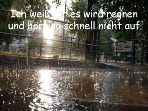 Auch im Regen