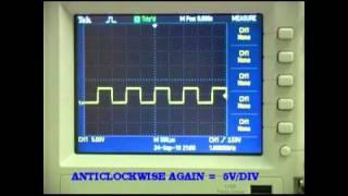 Repeat youtube video Tektronix  Oscilloscope  Tutorial  Part 1