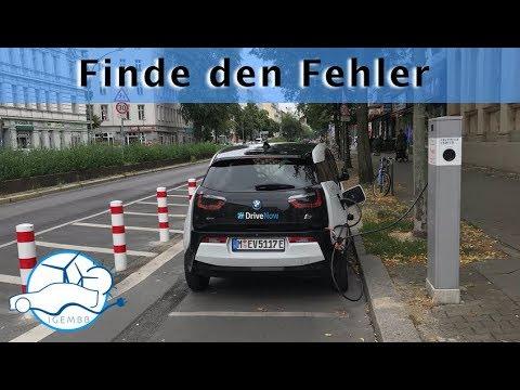 E-Mobilitäts Unfug #02 - Elektroauto laden auf dem Fahrradweg - Die richtige Reihenfolge?