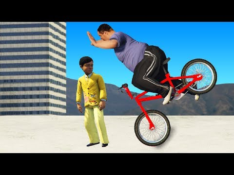 Never Ride A Bike With No Hands! (GTA RP)