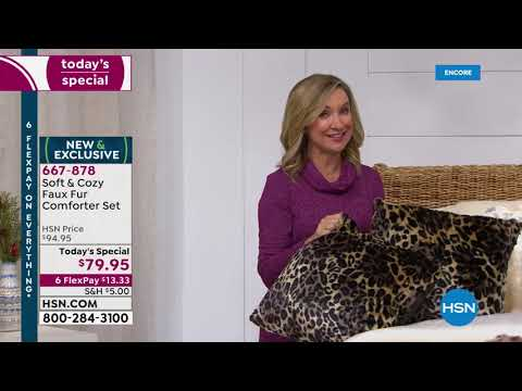 HSN | Soft & Cozy Gifts 10.25.2019 - 02 AM