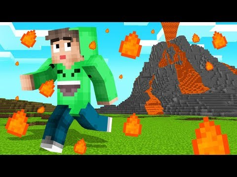 NATURAL DISASTERS In MINECRAFT! (Dangerous)