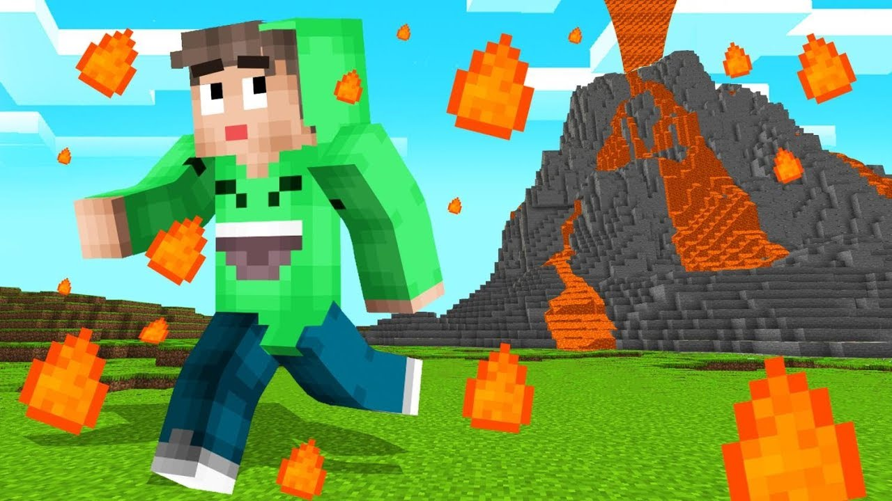 Natural Disasters In Minecraft Dangerous Youtube