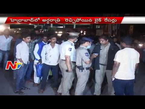 Bike Racers Hulchal In Hyderabad | Police Seized 18 Bikes & 2 Cars | NTV