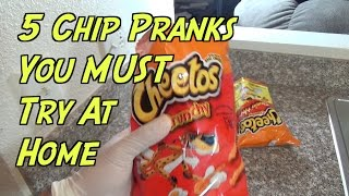 5 Chip Pranks You Can Do At Home-  HOW TO PRANK