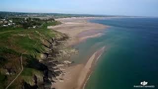 Vidéo drone phantom 3 avanced, à La Potinière, Barneville-Carteret, dans la Manche ( Normandie )