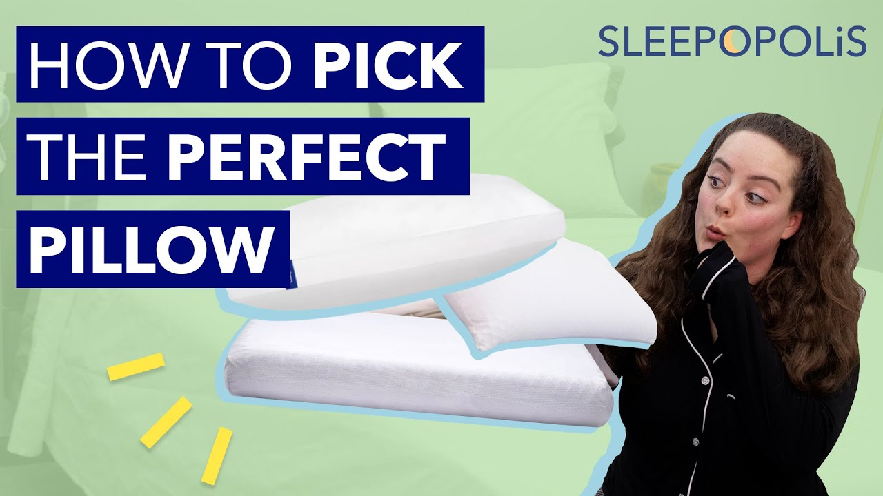 how to pick the perfect pillow everything you need to know