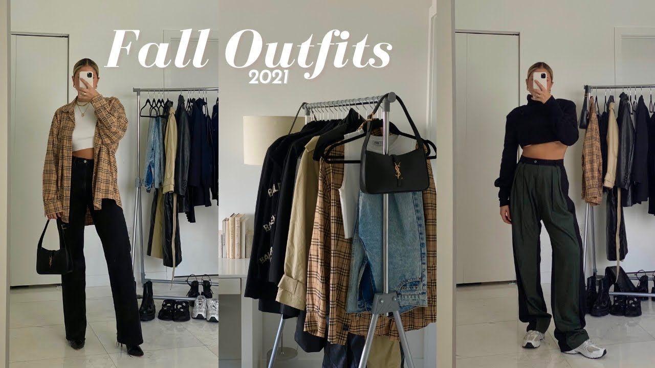 Fall outfits 2021 | casual and minimal