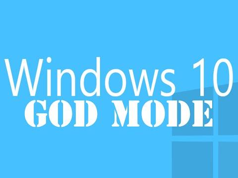 Enable GodMode On Windows 10 (Awesome Hack)