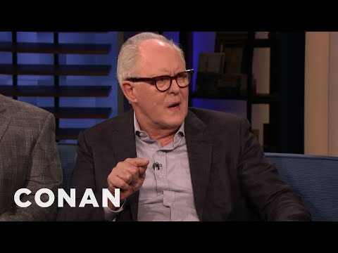 "John Lithgow Turned Down The Role Of The Joker In Tim Burton&39;s ""Batman"" - CONAN on TBS"
