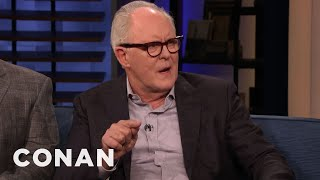 "John Lithgow Turned Down The Role Of The Joker In Tim Burton's ""Batman"" - CONAN on TBS"