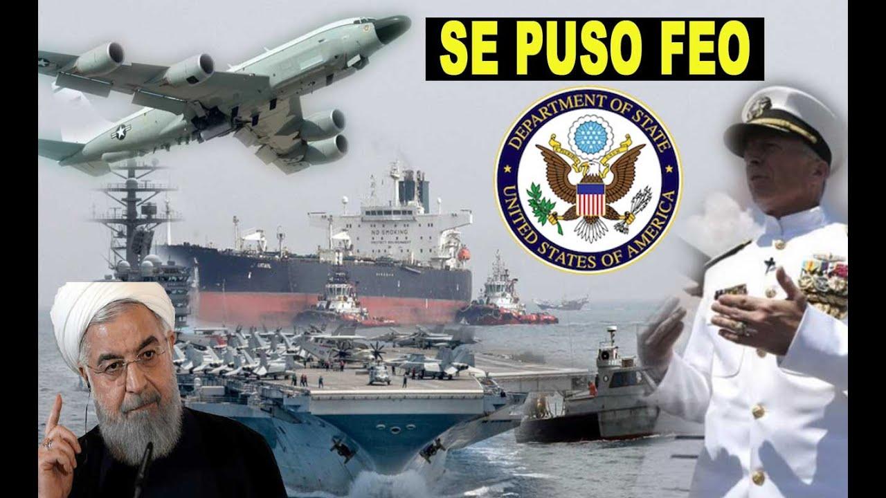 Ultima hora… SE PRENDIO el peo EE.UU. Irán Maduro tanqueros.. Estrecho Ormuz…