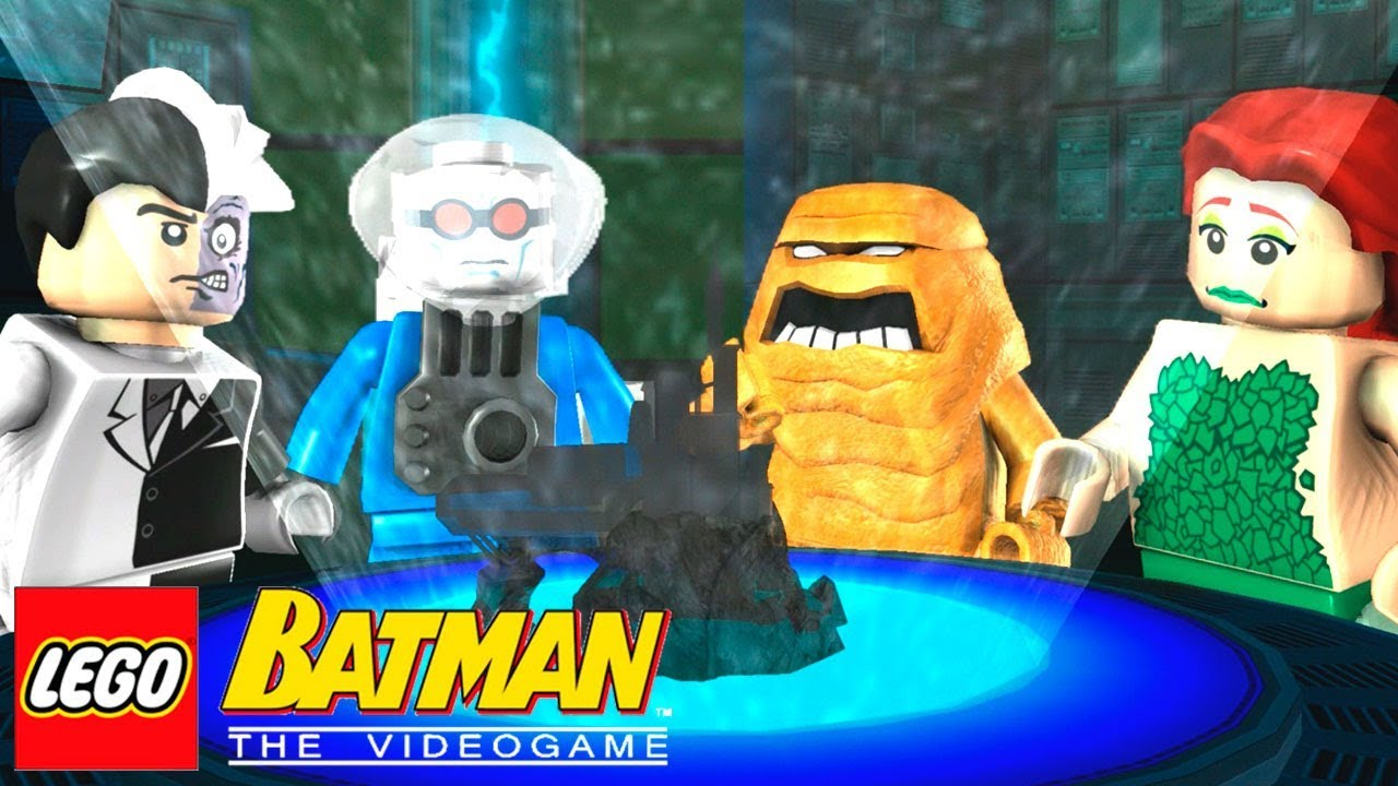 Lampada Lego Batman : Jogando com os vilÕes cara de barro lego batman the videogame