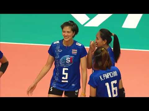 Women's VNL 2018: Russia v Thailand - Full Match (Week 1, Match 10)