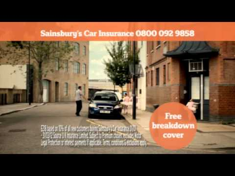 Sainsbury's Bank Car Insurance Advert July 2012
