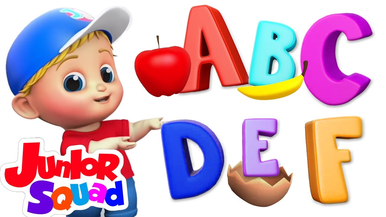 Lagu fonik | Kartun pendidikan anak | Animasi | Junior Squad Indonesia | Lagu anak anak