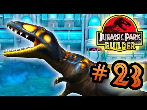 Jurassic Park Builder: Tournament: Part 23 HD CarcharoWINosaurus
