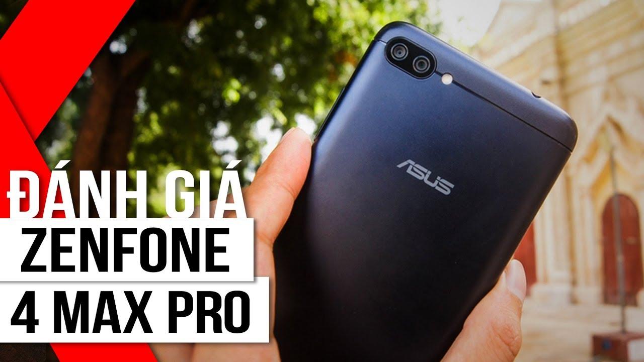 FPT Shop - Đánh giá Zenfone 4 Max Pro: Pin khủng 5000 mAh, Camera kép chụp ảnh góc rộng