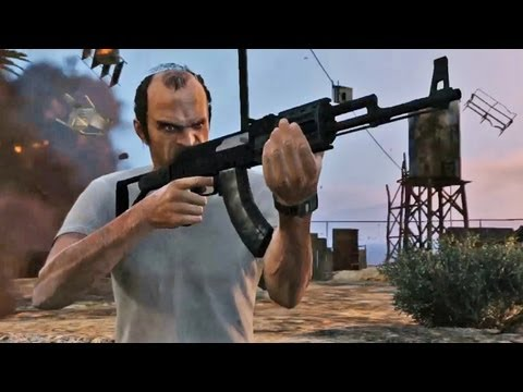 IGN Rewind Theater - Grand Theft Auto V Official Trailer: Rewind Theater