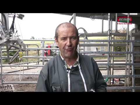 Formation parage : Cage de contention en inox et métier électrique