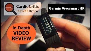 Garmin Vivosmart HR Video Review - Activity Tracker with wrist based HR amp built-in GPS