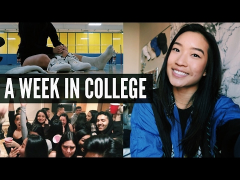 A Week In My College Life | Classes, Parties, & Volleyball