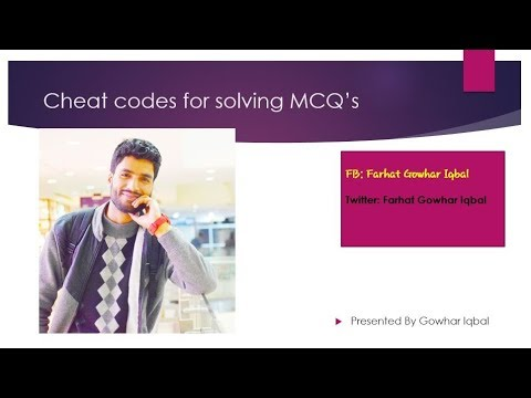 Tackle any MCQ in JKSSB exam even without knowing the Answer