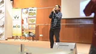 Dakmie - Tujuh Petala Cinta LIVE (Nasyid Amazingly Powerful Voice) HD