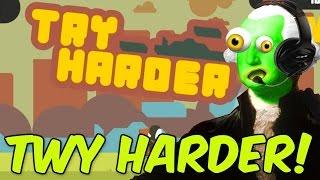 TWY HARDER! - ZGW Plays Try Harder Cartoon Network iOS Game