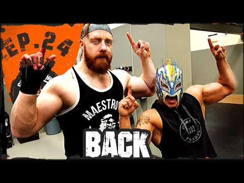 Celtic Warrior Workouts: Ep.024 Lucha Dragon Back Workout with Kalisto...
