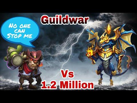 Guildwar | Mino Bomb | Fastest 10 Run | Zephyrica.....Who..?😂😂😂 | 10000 Score | Castle Clash