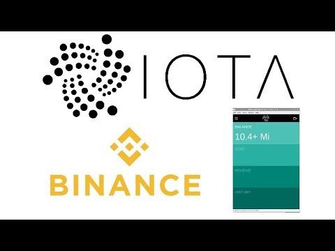 Successful IOTA Withdraw From Binance