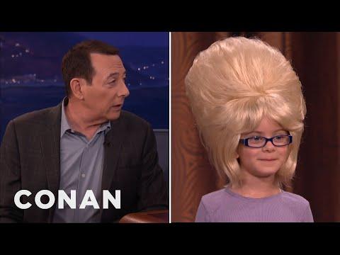 Paul Reubens' Wigs For Kids  - CONAN on TBS