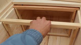 як зробити вулик лежак на 24 рамок своїми руками