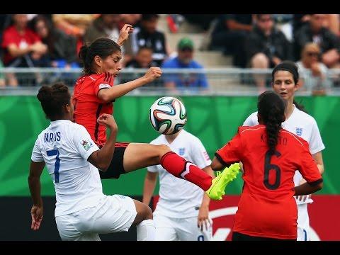 England v. Mexico, Canada 2014 HIGHLIGHTS