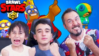 3 KİŞİ BRAWL STARS OYNADIK OYUN BOZULDU! | BRAWL STARS OYNUYORUZ!