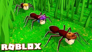 Roblox Adventures - THE PALS TRANSFORM INTO ANTS IN ROBLOX! (Roblox Ant Simulator)